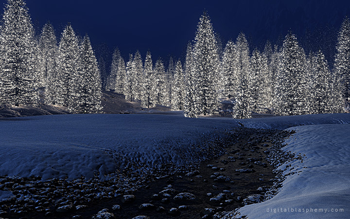 Image result for snowy christmas
