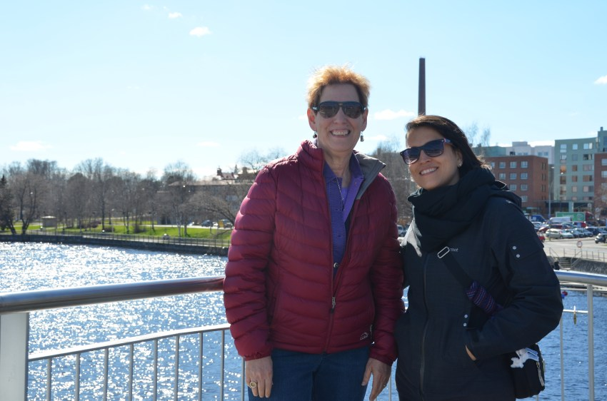 Bonnie & Christine's Most Excellent, Educational Adventure in FInland