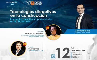 Linkedin live: Tecnologías disruptivas en la construcción