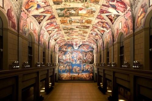 大塚国際美術館 システィーナ礼拝堂天井画