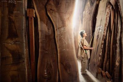 Mira Nakashima, Designer and Woodworker, George Nakashima Woodworking, New Hope, PA