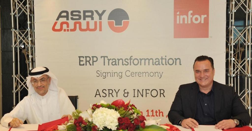 ASRY Modernisation Continues with Infor Cloud-Based Digital Transformation Platform