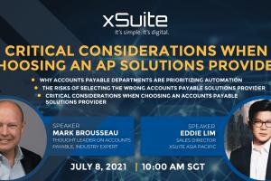 Webinar – Critical Considerations when choosing an AP Solutions Provider   8 Jul 21