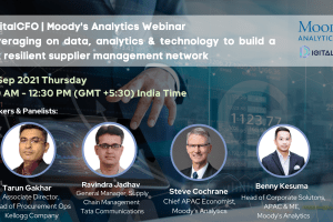 WEBINAR: LEVERAGING ON DATA, ANALYTICS & TECHNOLOGY TO BUILD A RISK RESILIENT SUPPLIER MANAGEMENT NETWORK | 9 SEP 21