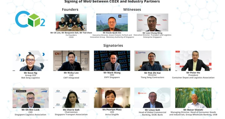 Singapore's First all-in Platform for Sustainability Connecting Technology, Businesses, and Financial Services