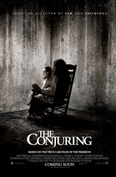 CONJURING 1 (THE) HD GOOGLE PLAY DIGITAL COPY MOVIE CODE (DIRECT IN TO GOOGLE PLAY) CANADA