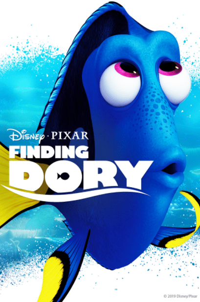 FINDING DORY DISNEY HD iTunes DIGITAL COPY MOVIE CODE (READ DESCRIPTION FOR REDEMPTION SITE/STEP/INFO) USA CANADA