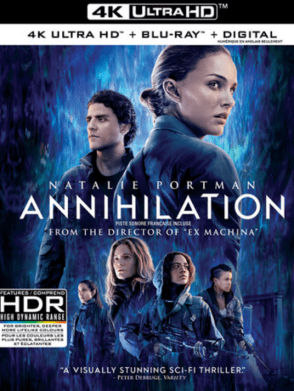 ANNIHILATION 4K UHD iTunes DIGITAL COPY MOVIE CODE (DIRECT IN TO ITUNES) USA CANADA