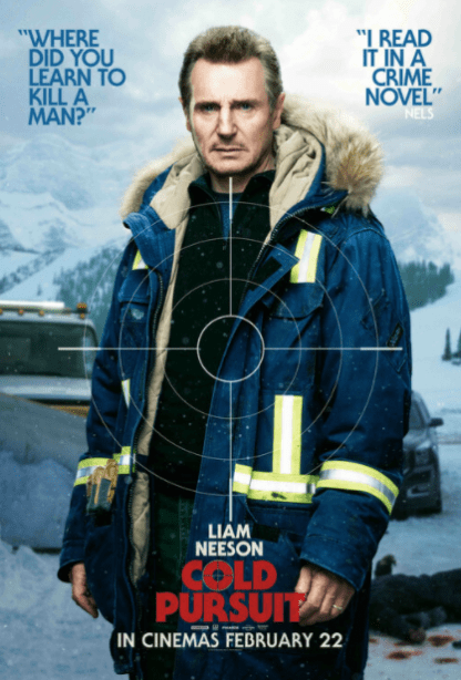 COLD PURSUIT 4K UHD iTunes DIGITAL COPY MOVIE CODE (DIRECT IN TO ITUNES) CANADA