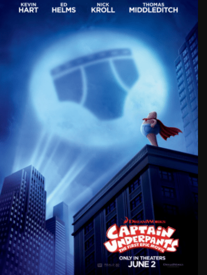 CAPTAIN UNDERPANTS HD MOVIES ANYWHERE DIGITAL COPY MOVIE CODE (READ DESCRIPTION FOR REDEMPTION SITE) USA