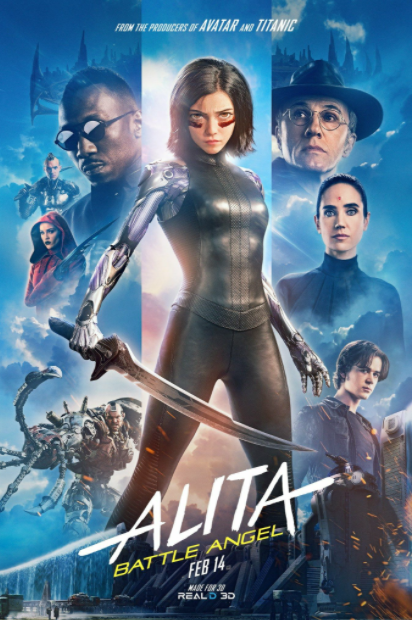 ALITA BATTLE ANGEL HDX VUDU, HD MOVIES ANYWHERE, HD GOOGLE DIGITAL COPY MOVIE CODE (READ DESCRIPTION FOR REDEMPTION SITE) USA