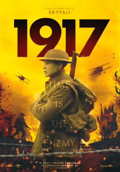 1917 HD GOOGLE PLAY DIGITAL COPY MOVIE CODE (DIRECT IN TO GOOGLE PLAY) CANADA