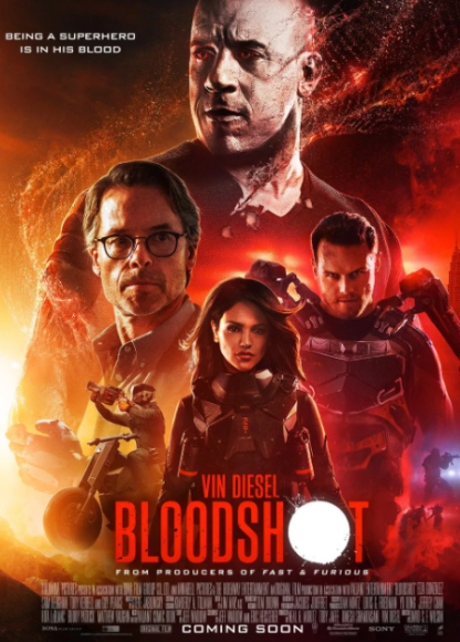 BLOODSHOT HD GOOGLE PLAY DIGITAL COPY MOVIE CODE (DIRECT IN TO GOOGLE PLAY) CANADA