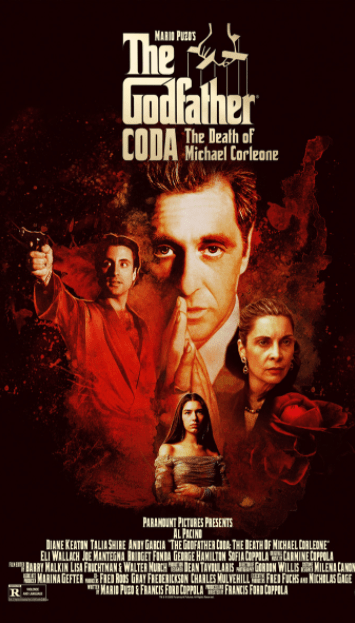 GODFATHER 3 (THE ) / THE GODFATHER CODA THE DEATH OF MICHAEL CORLEONE HDX VUDU or HD iTunes (USA) / HD iTunes (CANADA) (READ DESCRIPTION FOR CORRECT REDEMPTION SITE)