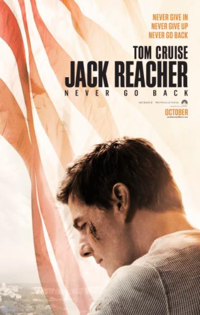 JACK REACHER 2 NEVER GO BACK HDX VUDU DIGITAL COPY MOVIE CODE (READ DESCRIPTION FOR REDEMPTION SITE) USA