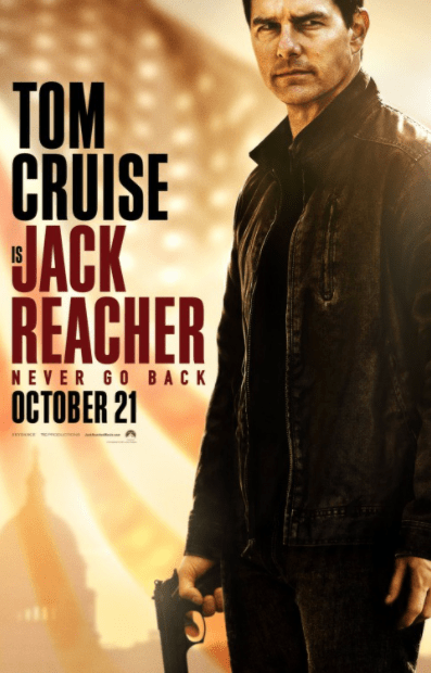 JACK REACHER 2 NEVER GO BACK 4K UHD iTunes DIGITAL COPY MOVIE CODE (DIRECT IN TO ITUNES) USA CANADA