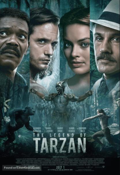 LEGEND OF TARZAN (THE) HD GOOGLE PLAY DIGITAL COPY MOVIE CODE (DIRECT IN TO GOOGLE PLAY) CANADA