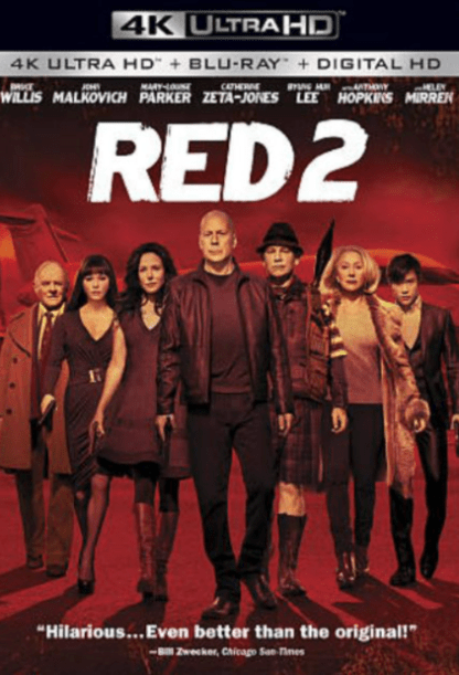 REDS 2 4K UHD iTunes DIGITAL COPY MOVIE CODE (DIRECT IN TO ITUNES) CANADA