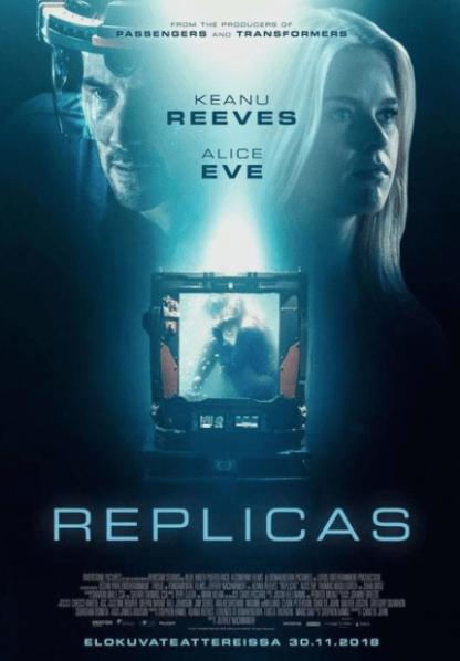 REPLICAS HDX VUDU, HD GOOGLE PLAY, HD FANDANGO, HD iTunes DIGITAL MOVIE CODE (READ DESCRIPTION FOR REDEMPTION SITE) USA