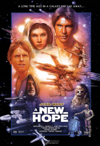 STAR WARS 4 A NEW HOPE DISNEY HD iTunes DIGITAL COPY MOVIE CODE (READ DESCRIPTION FOR REDEMPTION SITE/STEP/INFO) USA CANADA