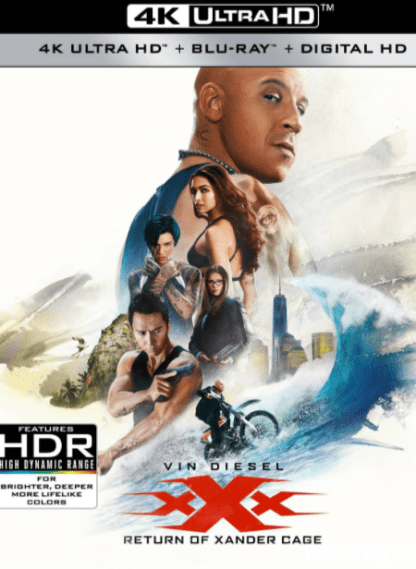 XXX RETURN OF XANDER CAGE 4K UHD iTunes DIGITAL COPY MOVIE CODE (DIRECT IN TO ITUNES) USA CANADA