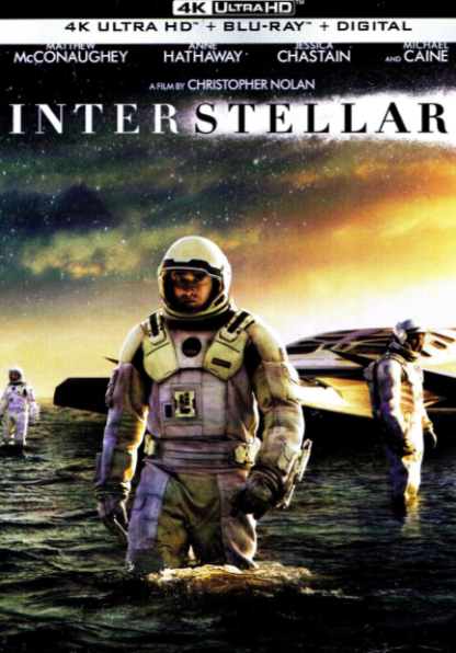 INTERSTELLAR 4K UHD iTunes DIGITAL COPY MOVIE CODE (DIRECT IN TO ITUNES) USA CANADA