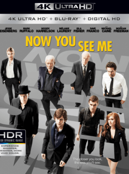 NOW YOU SEE ME 1 4K UHD iTunes DIGITAL COPY MOVIE CODE (DIRECT IN TO ITUNES) CANADA