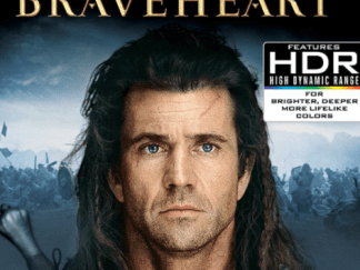 BRAVEHEART 4K UHD VUDU or 4K UHD iTunes (USA) / 4K UHD iTunes (CANADA) DIGITAL COPY MOVIE CODE (READ DESCRIPTION FOR REDEMPTION SITE)