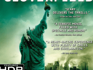 CLOVERFIELD 4K UHD iTunes DIGITAL COPY MOVIE CODE (DIRECT IN TO ITUNES) USA CANADA