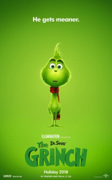 DR. SEUSS' THE GRINCH HD GOOGLE PLAY DIGITAL COPY MOVIE CODE (DIRECT IN TO GOOGLE PLAY) CANADA