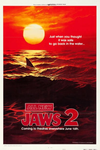 JAWS 2 HD GOOGLE PLAY DIGITAL COPY MOVIE CODE (DIRECT IN TO GOOGLE PLAY) CANADA