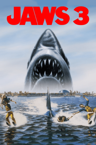 JAWS 3 HD GOOGLE PLAY DIGITAL COPY MOVIE CODE (DIRECT IN TO GOOGLE PLAY) CANADA