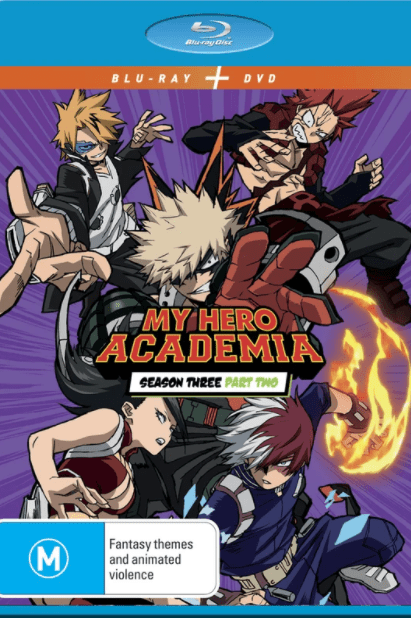 MY HERO ACADEMIA SEASON 3 PART 2 HD DIGITAL COPY MOVIE CODE (requires account with Funimation)( READ DESCRIPTION FOR SITE/INFO) USA - PLEASE VISIT FUNIMATION FOR ALL THE DETAILS ABOUT THIS PRODUCT