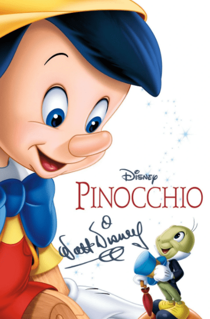 PINOCCHIO SIGNATURE COLLECTION DISNEY HD GOOGLE PLAY (DIRECT INTO GOOGLE PLAY) CANADA