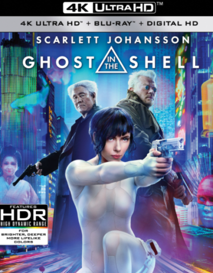 GHOST IN THE SHELL 4K UHD iTunes DIGITAL COPY MOVIE CODE (DIRECT IN TO ITUNES) USA CANADA