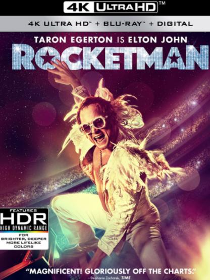ROCKETMAN 4K UHD iTunes DIGITAL COPY MOVIE CODE (DIRECT IN TO ITUNES) USA CANADA