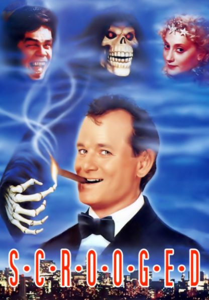SCROOGED HD iTunes DIGITAL COPY MOVIE CODE (DIRECT IN TO ITUNES) USA CANADA