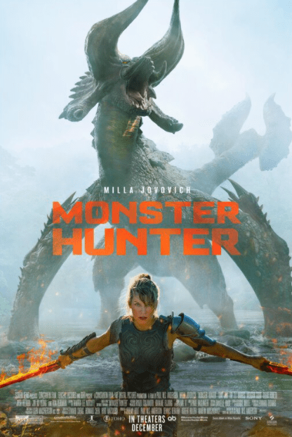 MONSTER HUNTER HD GOOGLE PLAY DIGITAL COPY MOVIE CODE (DIRECT IN TO GOOGLE PLAY) CANADA