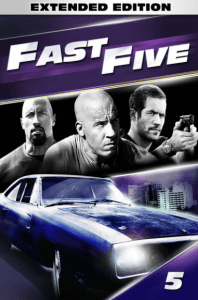FAST AND FURIOUS 5 / FAST FIVE EXTENDED UNRATED HD GOOGLE PLAY DIGITAL COPY MOVIE CODE (DIRECT IN TO GOOGLE PLAY) CANADA