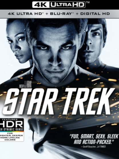 STAR TREK 1 / STAR TREK 4K UHD iTunes DIGITAL COPY MOVIE CODE (DIRECT IN TO ITUNES) USA CANADA