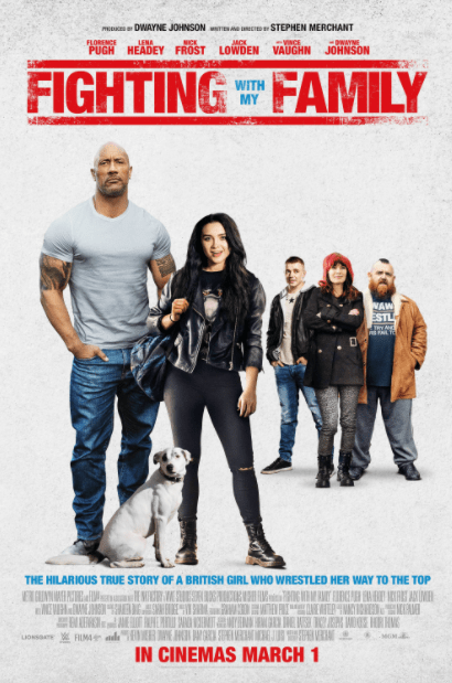 FIGHTING WITH MY FAMILY HD iTunes DIGITAL COPY MOVIE CODE (DIRECT IN TO ITUNES) USA