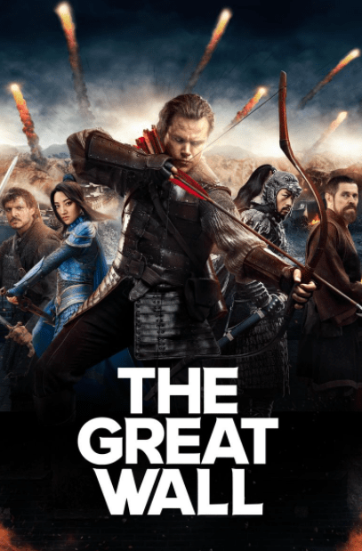 GREAT WALL (THE) HDX VUDU (USA) / HD GOOGLE PLAY (CANADA) DIGITAL MOVIE CODE ONLY (READ DESCRIPTION FOR REDEMPTION SITE)