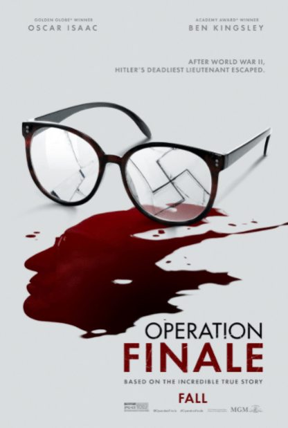 OPERATION FINALE 4K UHD iTunes DIGITAL COPY MOVIE CODE (DIRECT IN TO ITUNES) USA