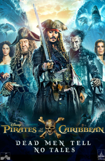 PIRATES OF THE CARIBBEAN DEAD MEN TELL NO TALES DISNEY HD GOOGLE PLAY DIGITAL COPY MOVIE CODE (DIRECT IN TO GOOGLE PLAY) USA CANADA