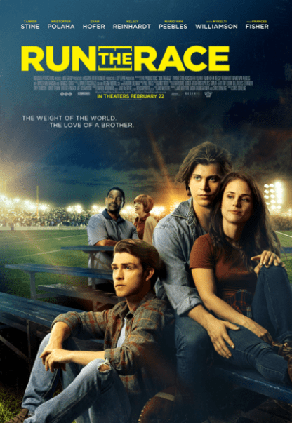 RUN THE RACE HDX MOVIES ANYWHERE DIGITAL COPY MOVIE CODE (DIRECT IN TO MOVIES ANYWHERE) USA