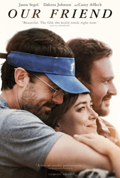 OUR FRIEND HD iTunes DIGITAL COPY MOVIE CODE (DIRECT IN TO ITUNES) CANADA