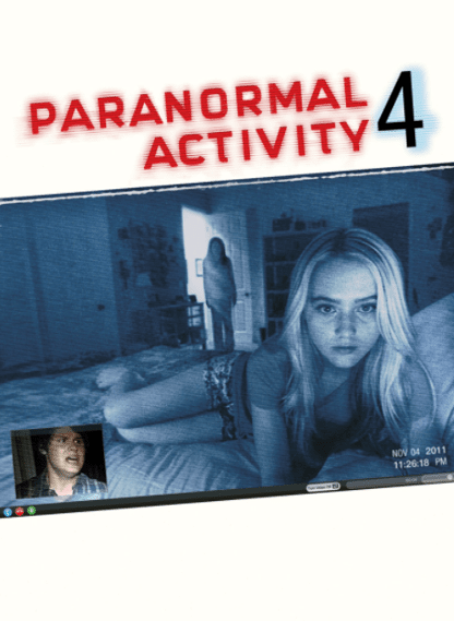 PARANORMAL ACTIVITY 4 HD iTunes DIGITAL COPY MOVIE CODE ONLY (DIRECT INTO ITUNES) USA CANADA