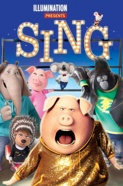 SING GOOGLE PLAY (CANADA) DIGITAL MOVIE CODE ONLY (READ DESCRIPTION FOR REDEMPTION SITE)