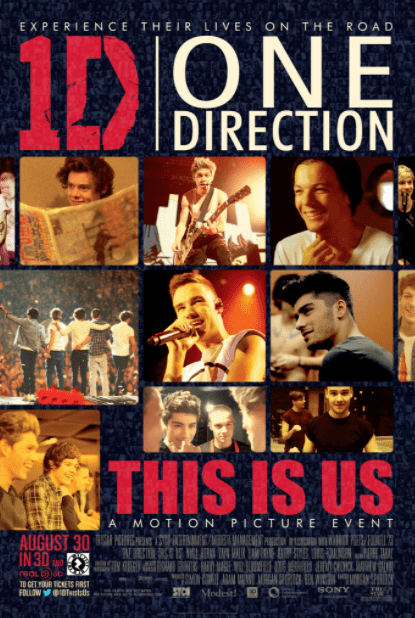 1D ONE DIRECTION THIS IS US HD GOOGLE PLAY DIGITAL COPY MOVIE CODE (DIRECT IN TO GOOGLE PLAY) CANADA