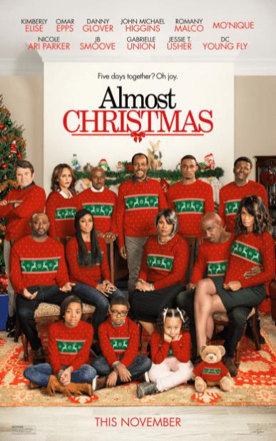 ALMOST CHRISTMAS HDX VUDU DIGITAL COPY MOVIE CODE ONLY (READ DESCRIPTION FOR REDEMPTION SITE) USA